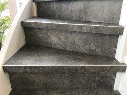 PVC op de trap